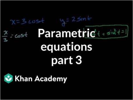 parametric equations 3