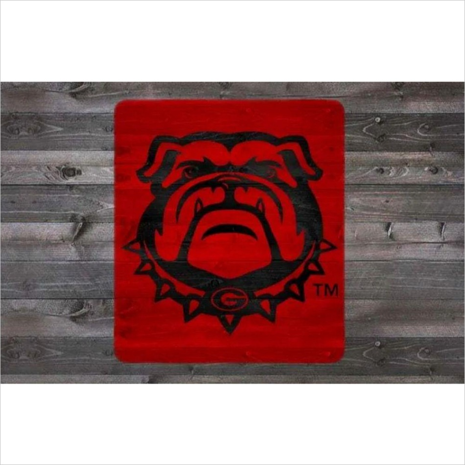 georgia bulldog stencil kit