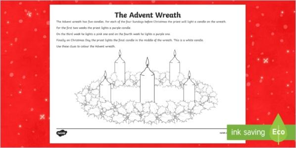 roi2 t 125 advent wreath colouring activity sheet