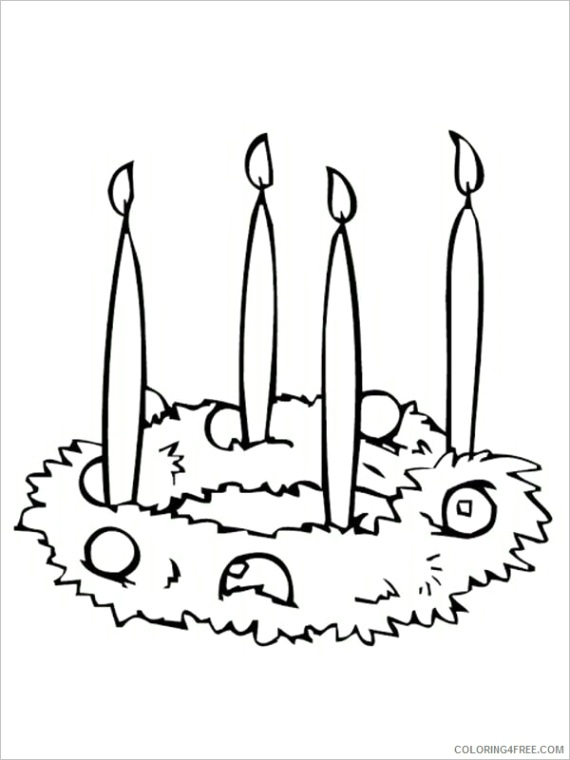 advent free coloring pages printable sheets simple advent wreath sheet 2021 a 2550 coloring4free