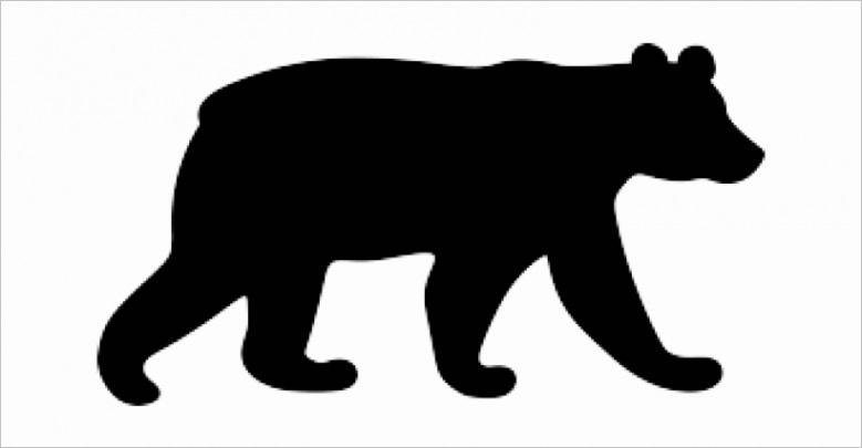 u2t4i1o0w7t4w7u2 black bear clipart silhouette pattern bear silhouette
