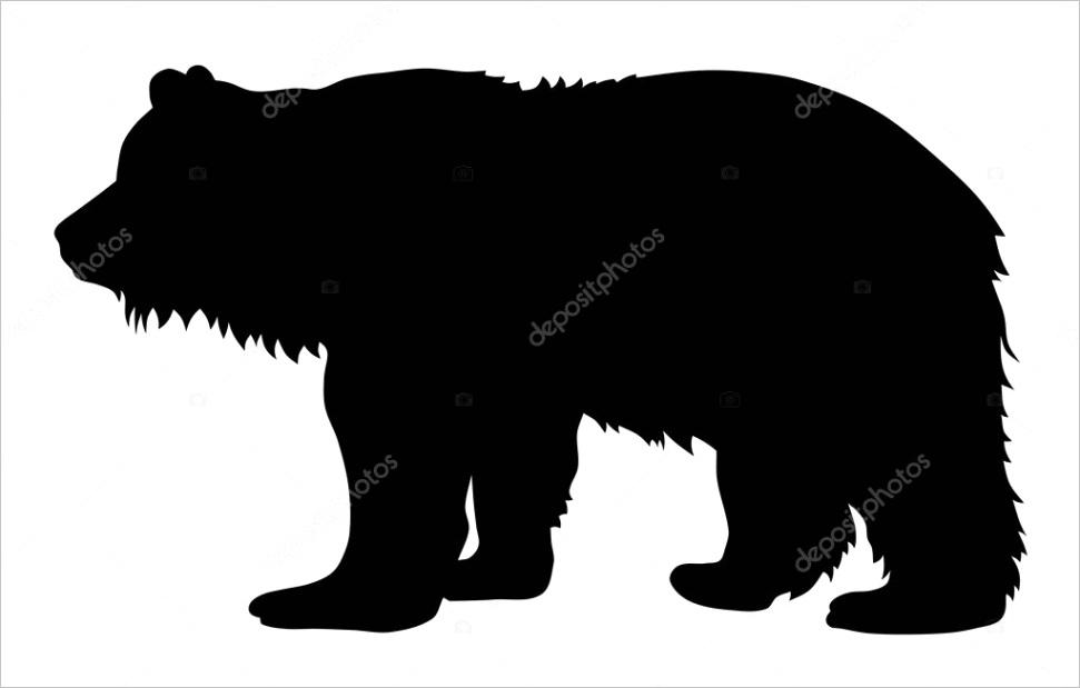 stock illustration bearml