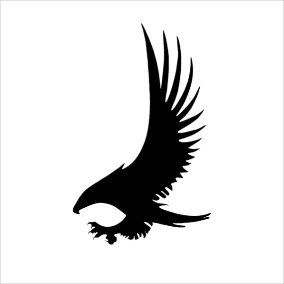 2 3rylybons 1pcs 1510cm body car stickers and decals eagle wings creative vinyl car sticker animal cartoon for toyota audi 5b4db1739d bcab060c