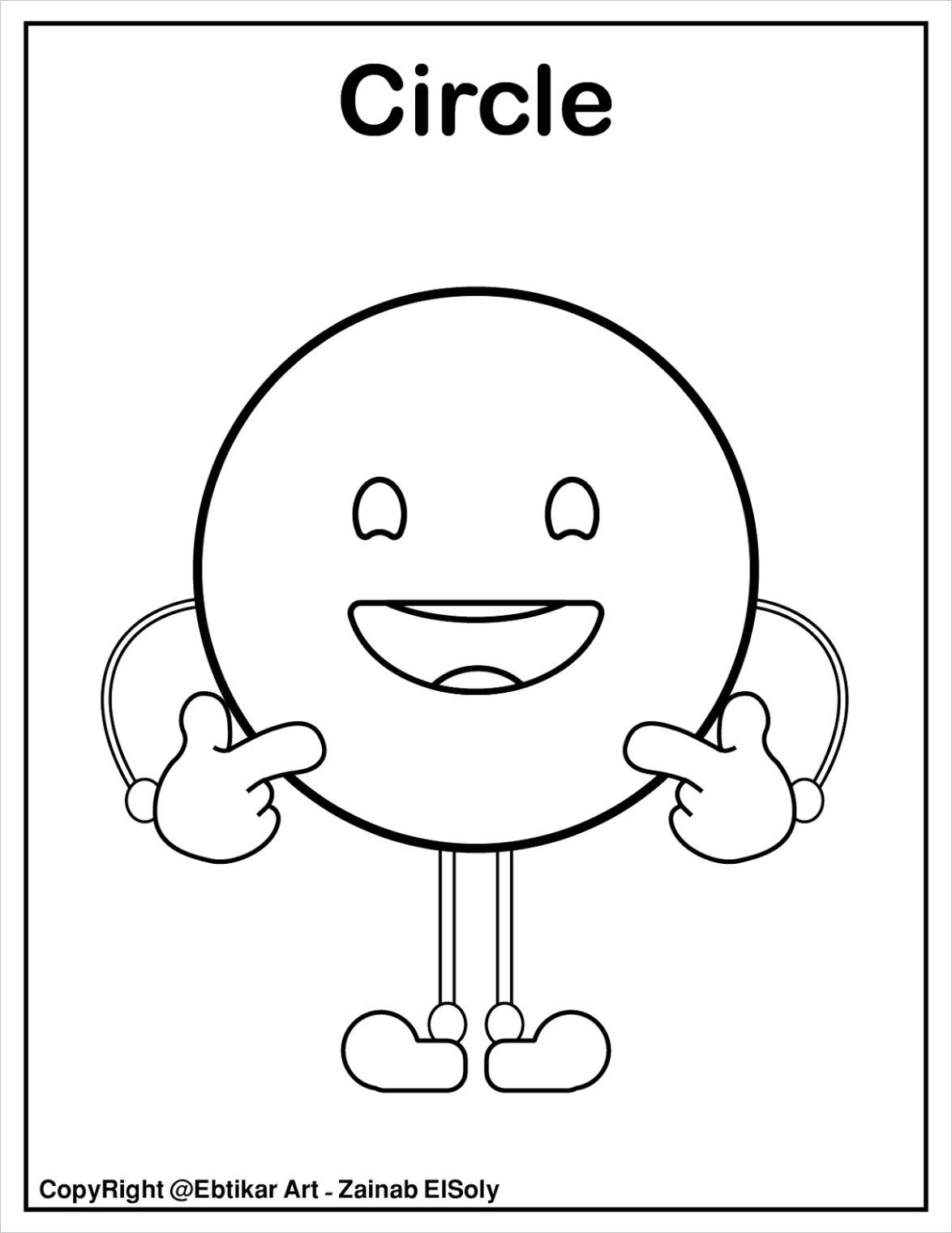 set of emoji shapes coloring pagesml