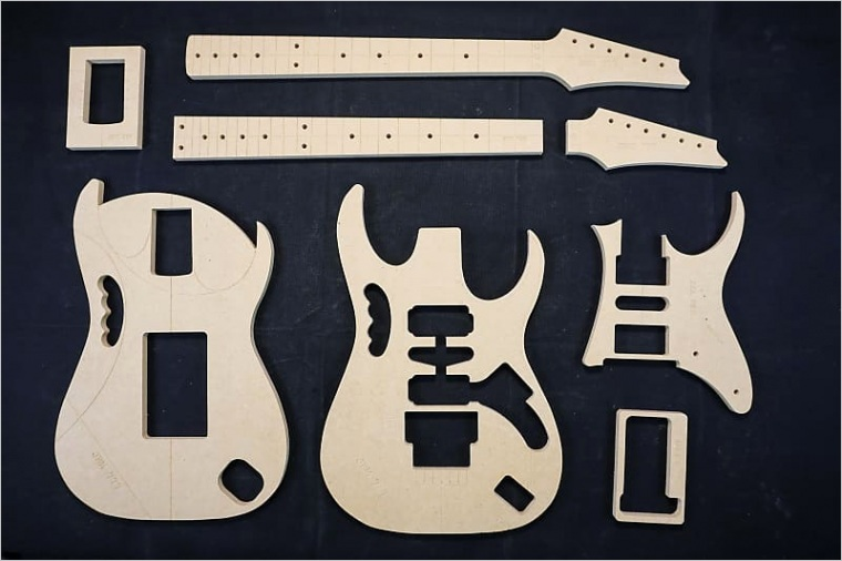 jem 777 guitar router template set 1 2 mdf cnc luthier building tools