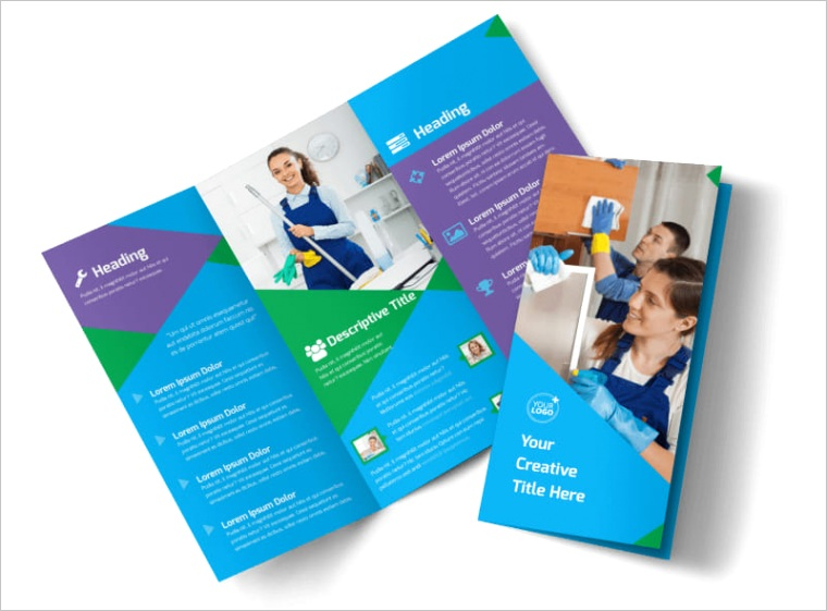mercial cleaning brochure templatepx