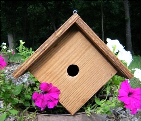 unique birdhouse designs and patterns
