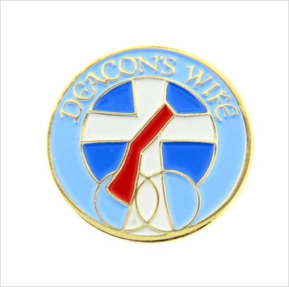 Deacons Wife Lapel Pinml