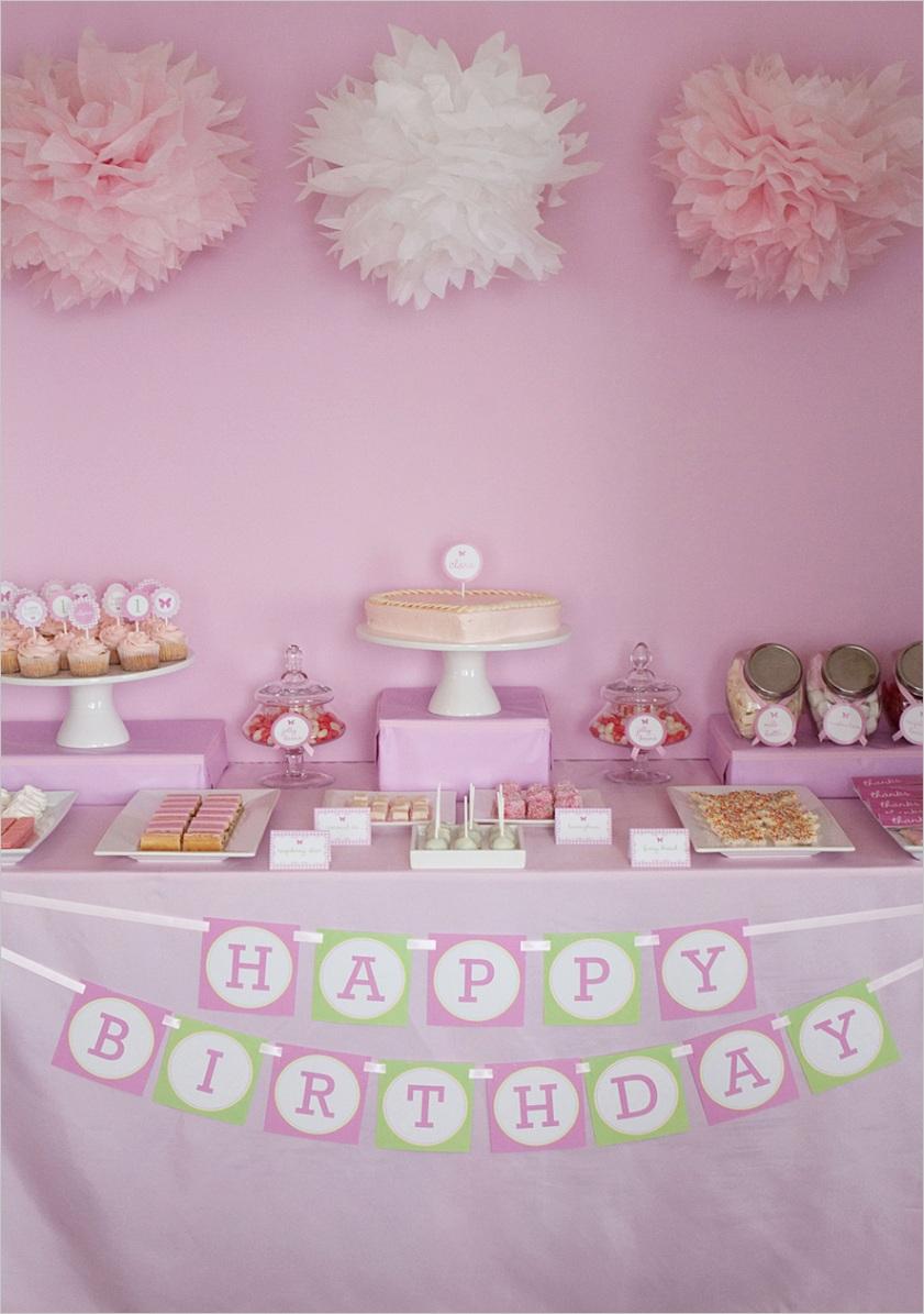 making a birthday bannerml