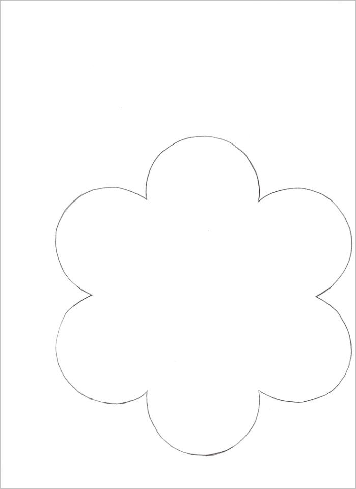 post 6 petals flowers templates printables
