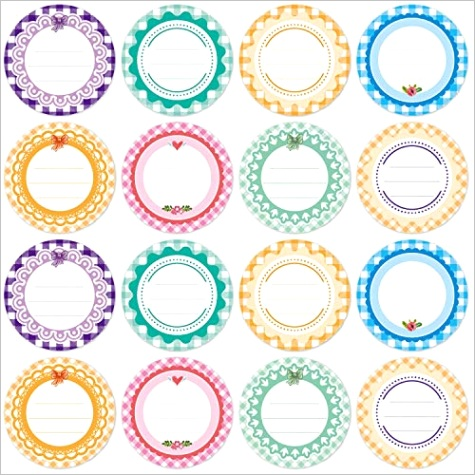 canning label stickers 2 inch 320 pcs round shaped us