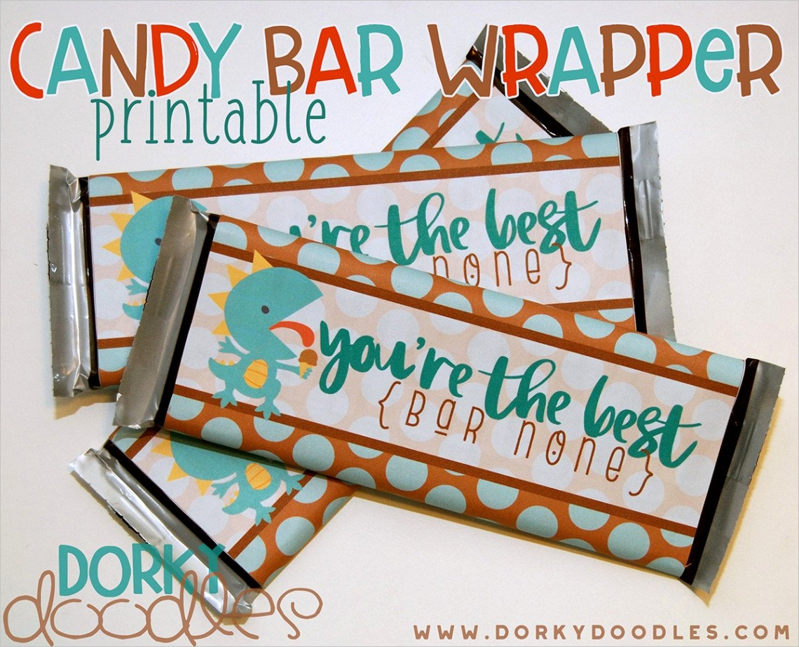 thank you printable candy bar wrapper