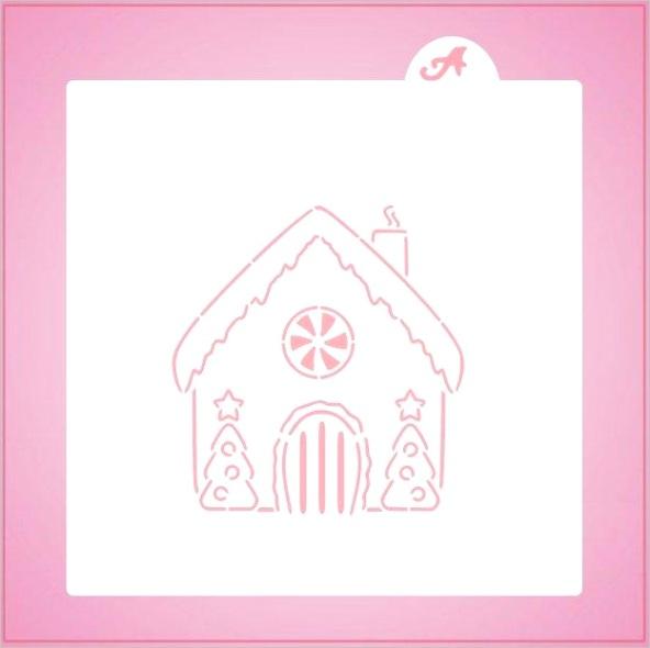 gingerbread house pyo stencil