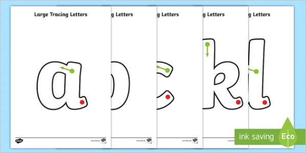 T L 023 Tracing letters