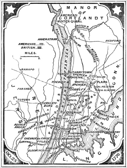 maps of battles of the revolutionary wartm