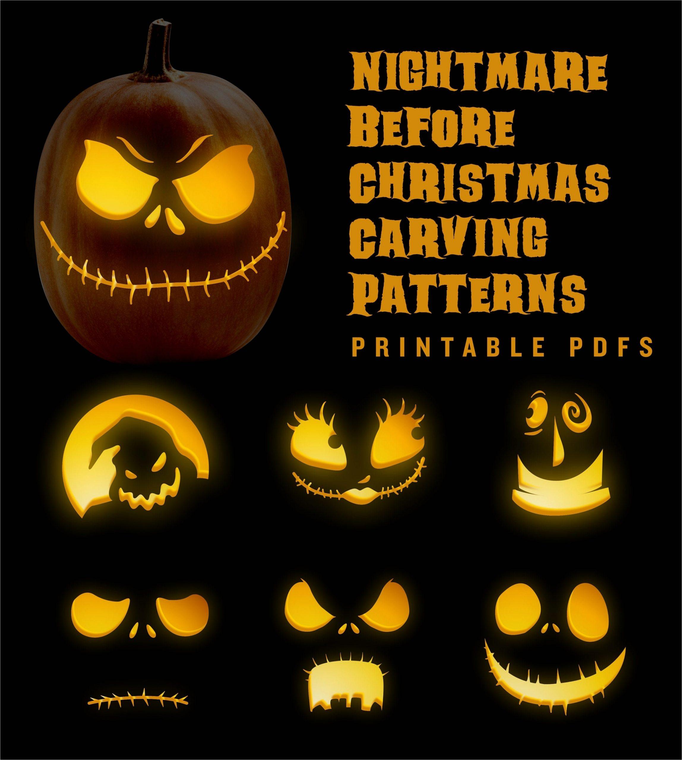 nightmare before christmas jack o