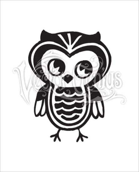 high resolution cute owl clip art stock art