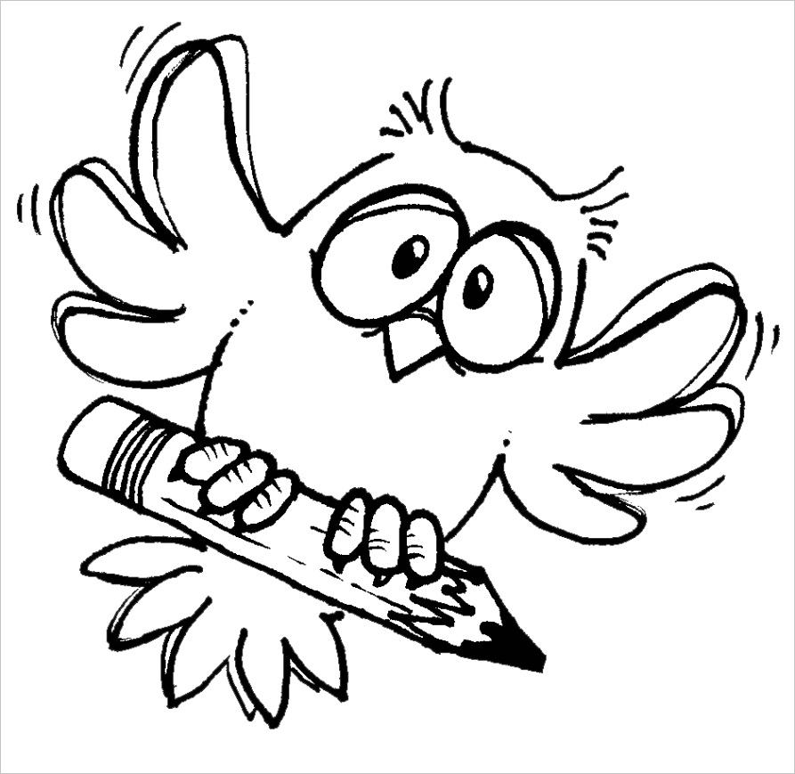 clipart owl black and whiteml