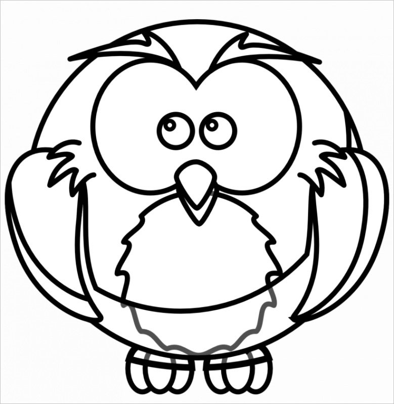 u2e6t4t4r5q8y3y3 cartoon owl tatoo tattoo black white line art