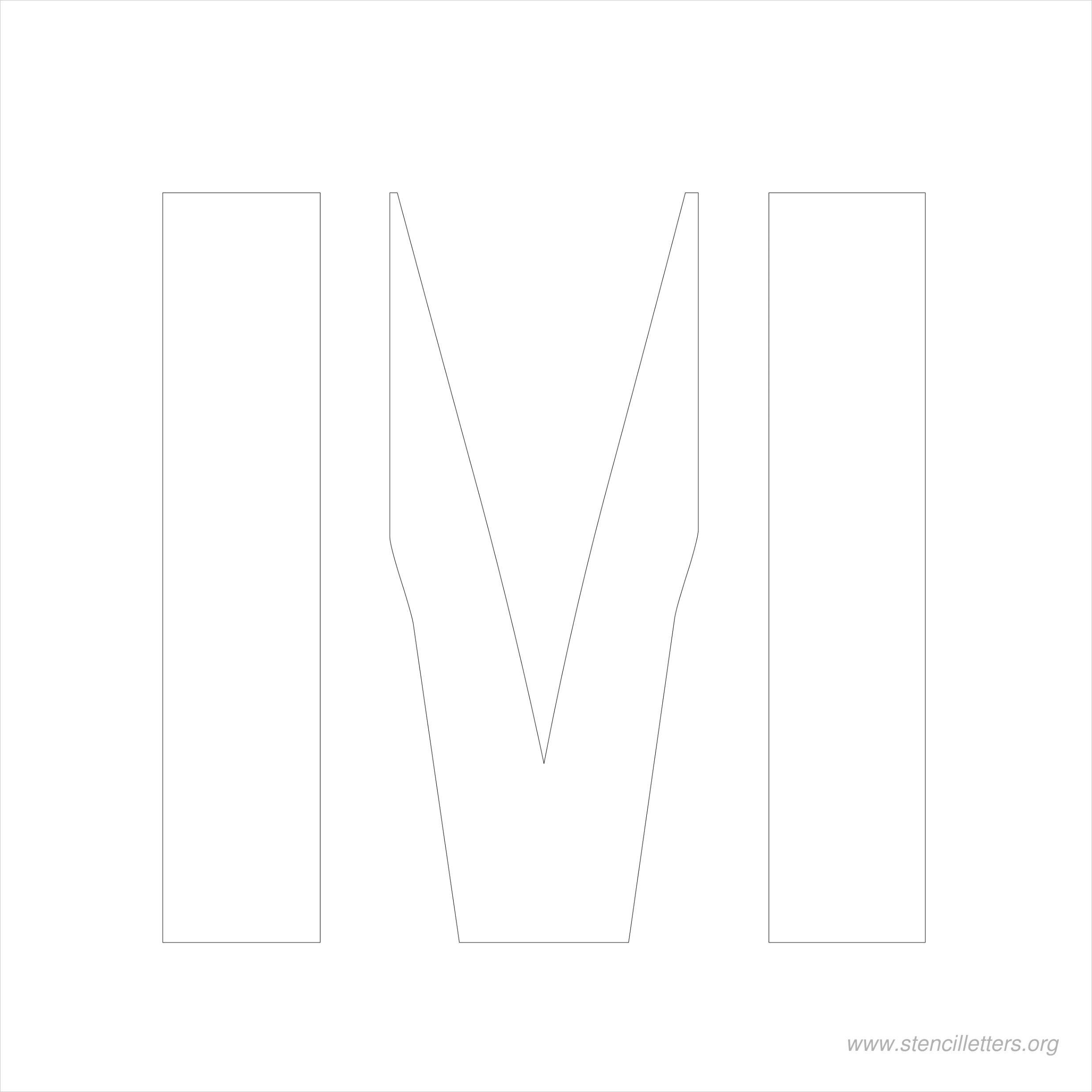 6 inch stencil lettersml