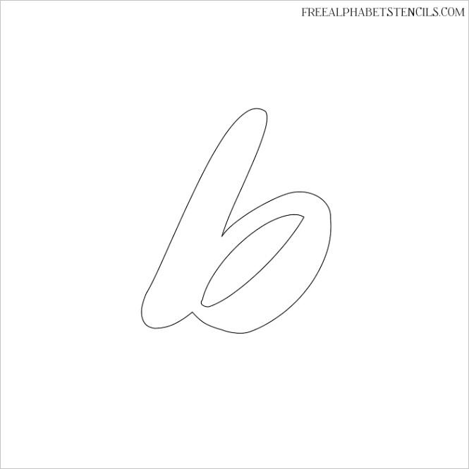alphabet calligraphy stencilsml