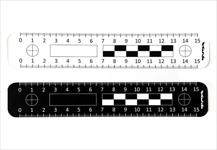 fluorescent rulers 15 cm 6 inch