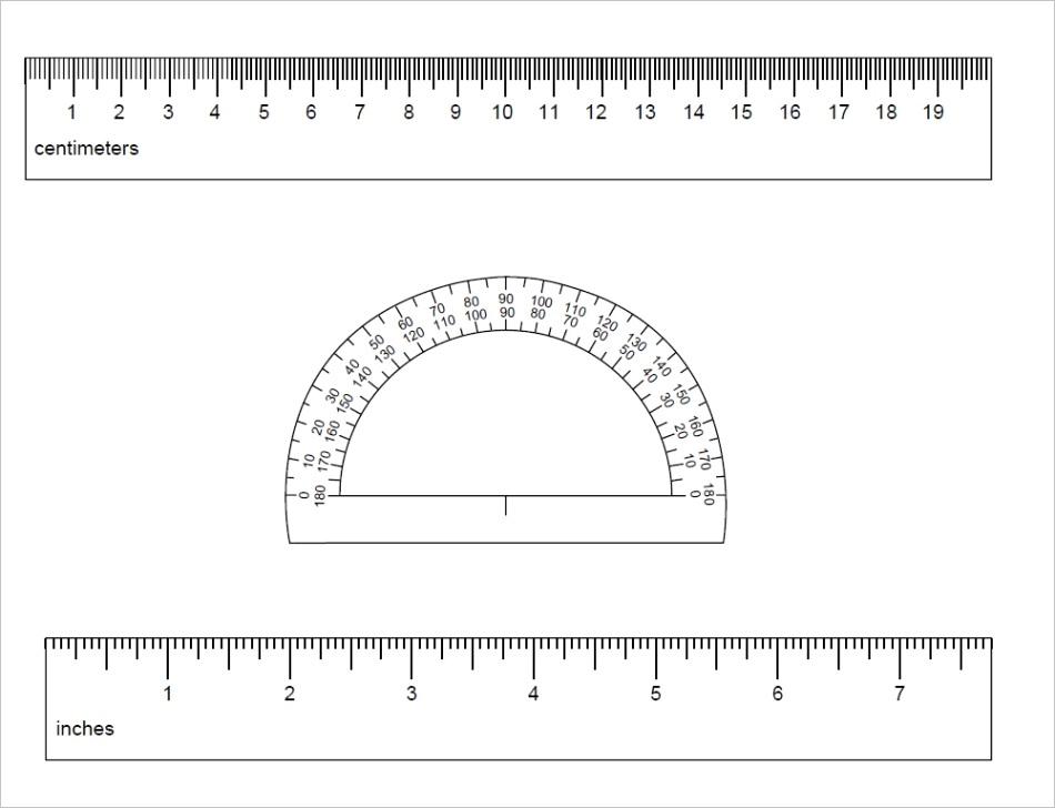 free printable rulers