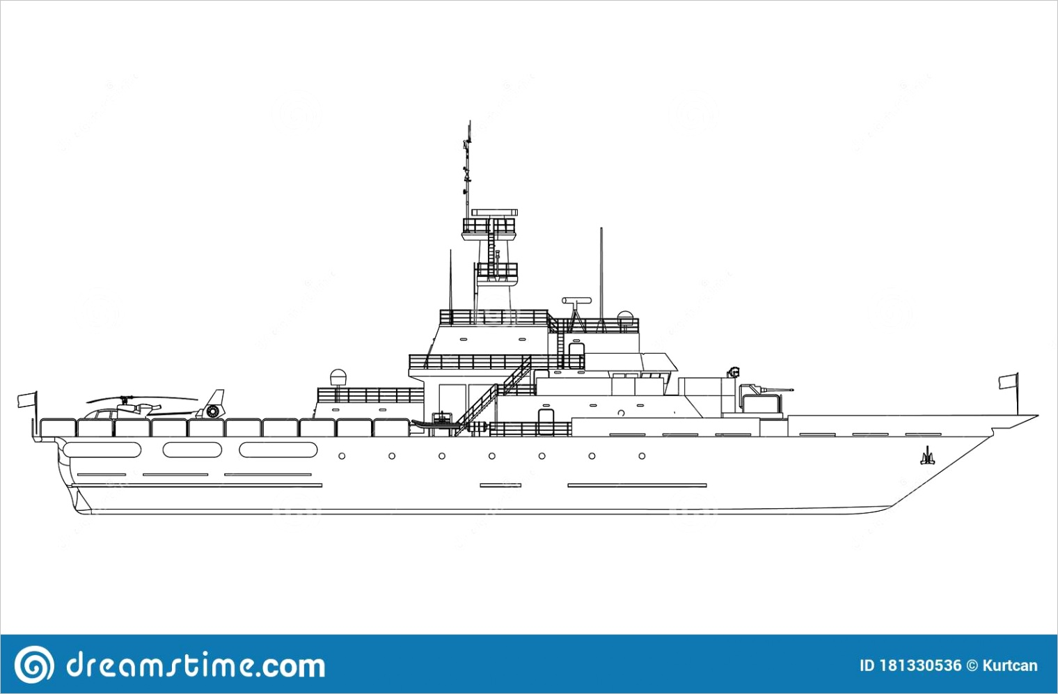 military ship outline vector military ship outline vector military vehicle template vector isolated white image