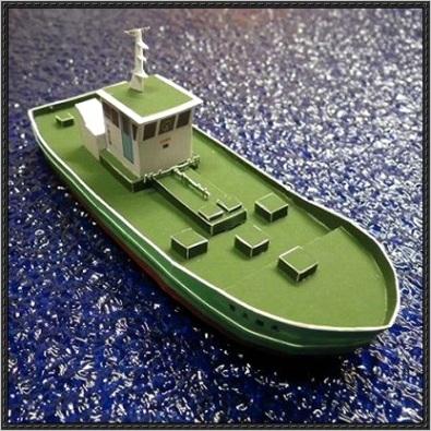 bunker ship paper model free templateml