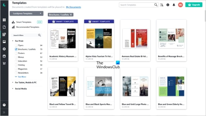 best free online pamphlet and brochure making tools
