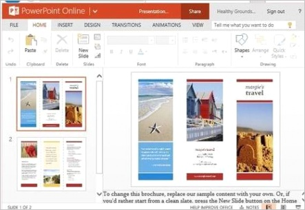 travel brochure maker templates for powerpoint powerpoint presentation