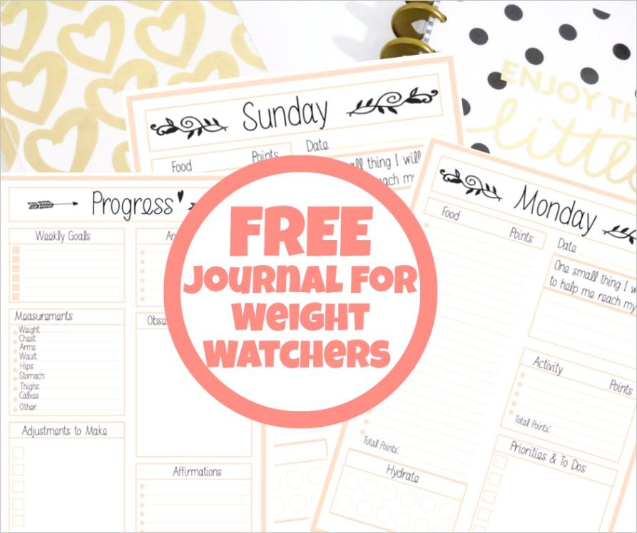 free weight watchers tracker