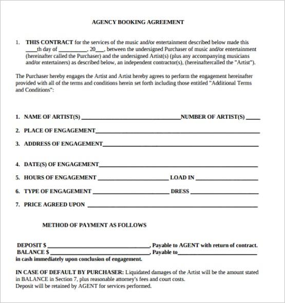 artist contract templateml