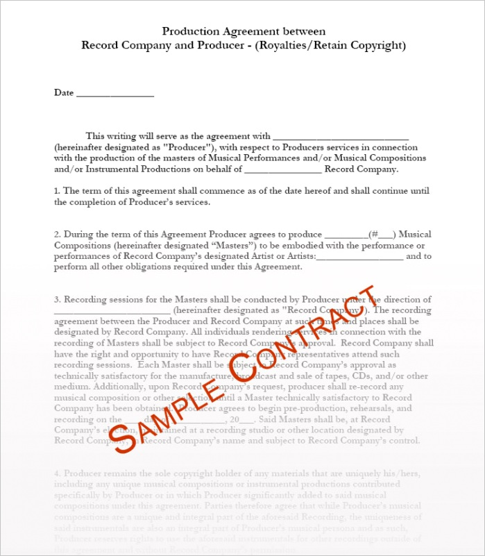 ar contract