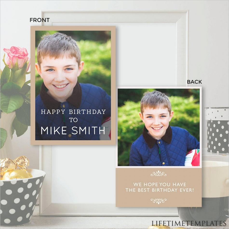 birthday card template birthday