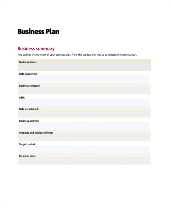 business action planml