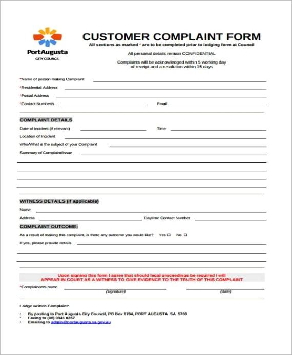 plaint form templateml