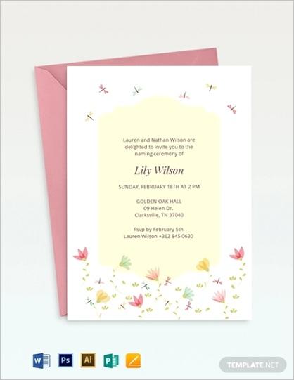 ceremony invitation templateml