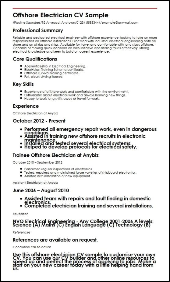 aircraft maintenance engineer apprentice resume sampleml