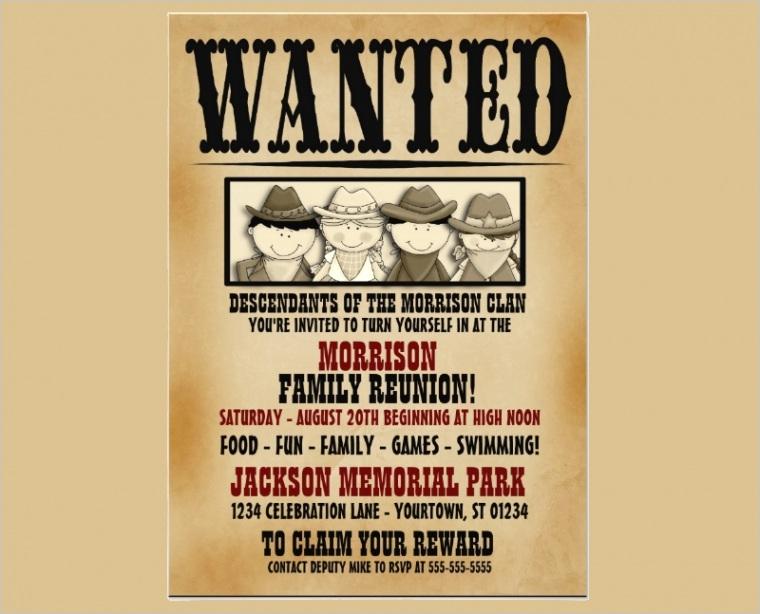 family reunion invitationml