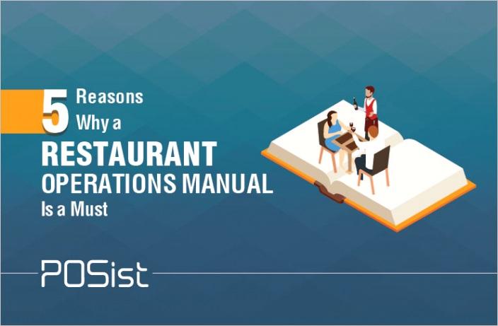 restaurant operations manualml