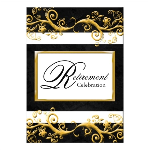 free retirement flyers templatesml