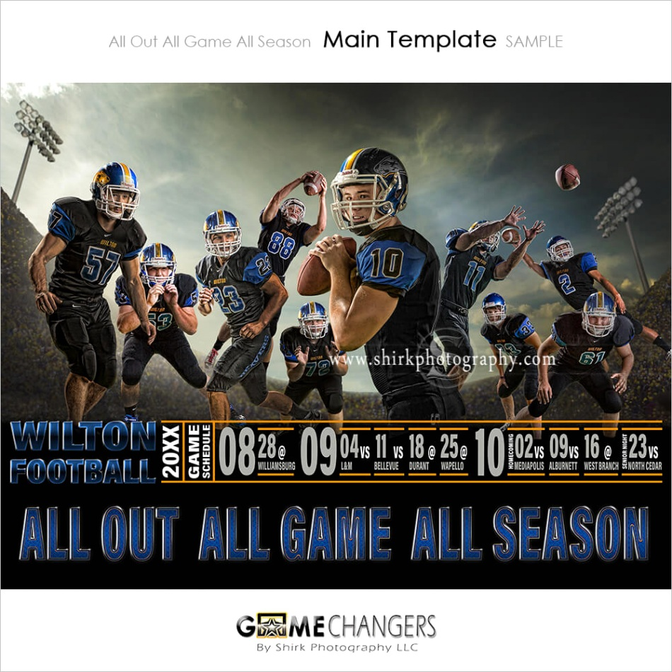 all out photoshop template