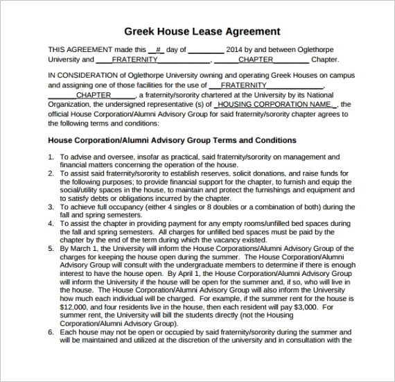 house lease agreement templateml