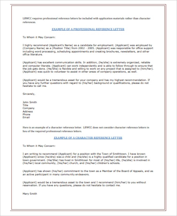 reference letter sampleml