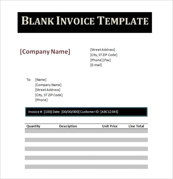 word invoice templateml