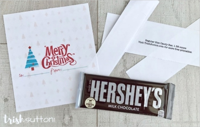 Christmas Candy Bar Wrappers Personalized Candy Bar Labels C2