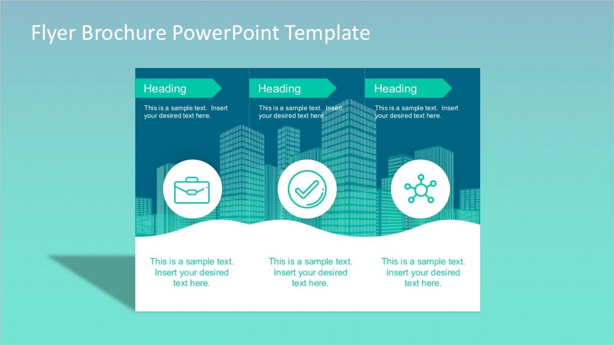 flyer brochure powerpoint template