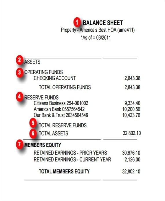 balance sheet templates in pdf