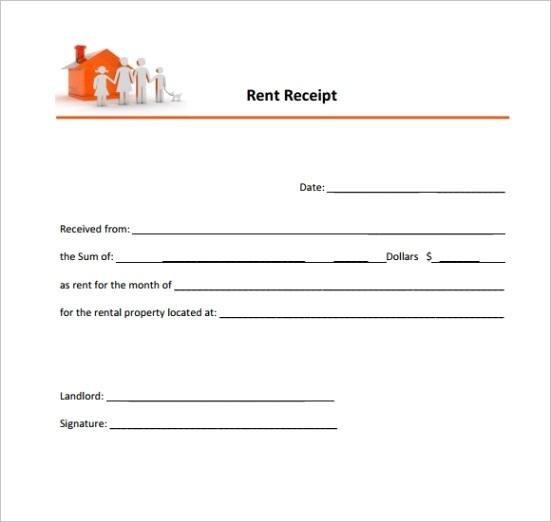 sample rent receiptml